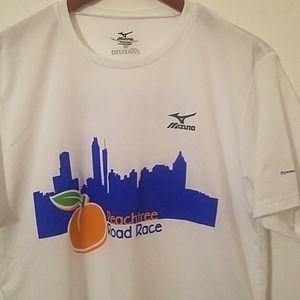 Mizuno Peachtree Road Race athletic shirt